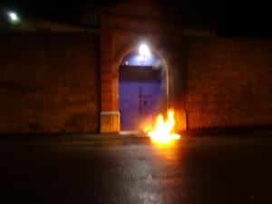 Prison de Tarbes, 25 décembre 2013.